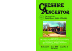 Cheshire Ancestor (2019-06 Vol.49 Number.4)