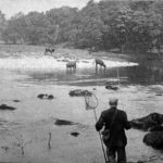 Fishing river wharfe