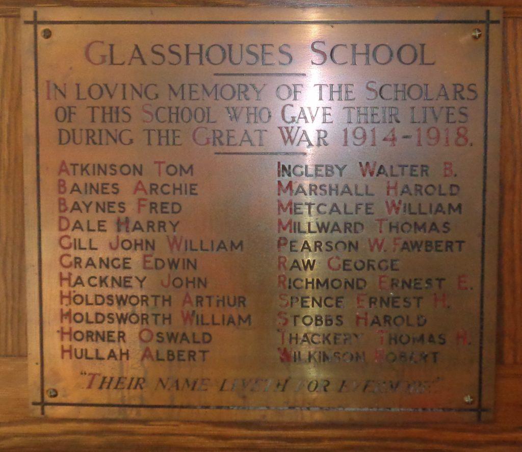 Glasshouses Primary School