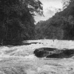 Strid in flood
