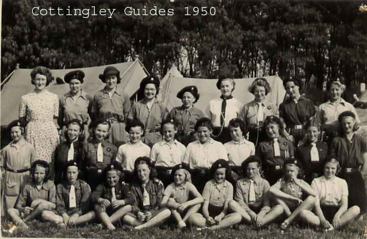 cottingley guides 1950