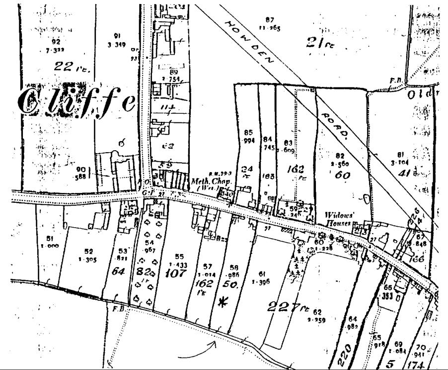 OLD ORDNANCE SURVEY MAP HARROGATE 1911 BURTON LEONARD ALDBOROUGH KNARESBOROUGH
